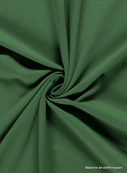 groen - effen french terry oeko tex