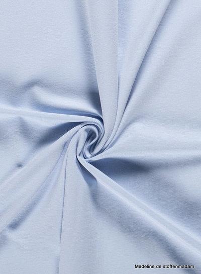 babyblauw - effen tricot