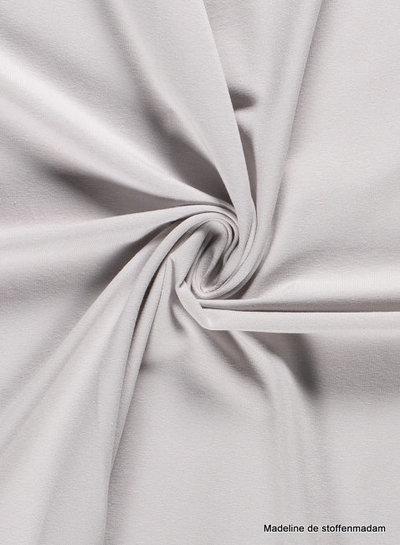 lichtgrijs - effen tricot