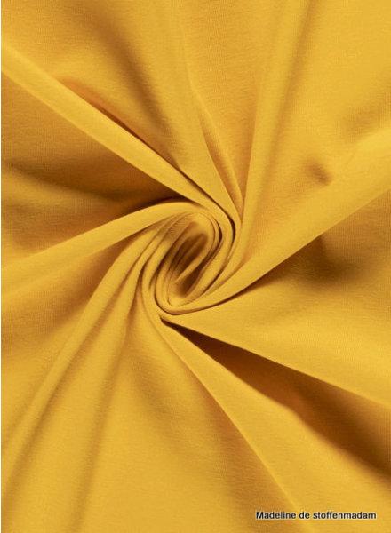 geel 033 - effen tricot