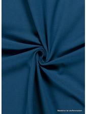 petrolblauw 224 - effen tricot