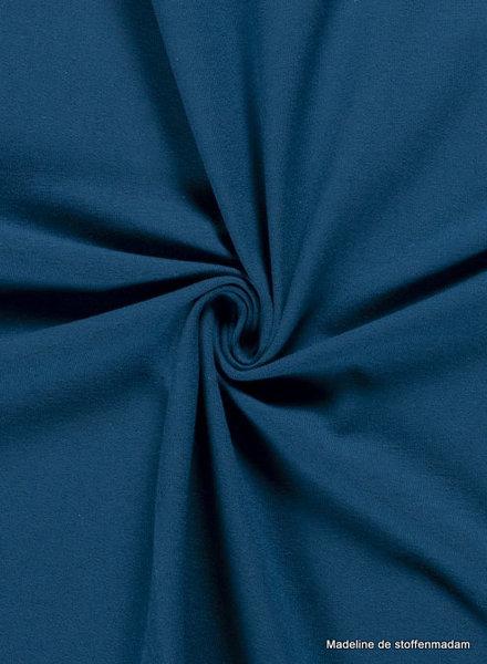 petrolblauw  - effen tricot