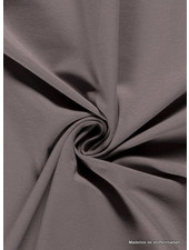 taupe - effen tricot