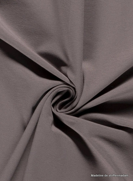 taupe 154 - effen tricot