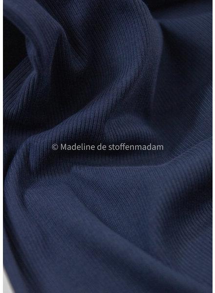 Ottoman tricot - marineblauw