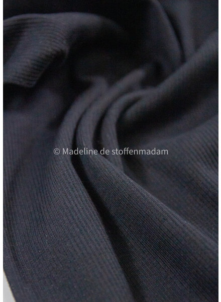 Ottoman jersey - black