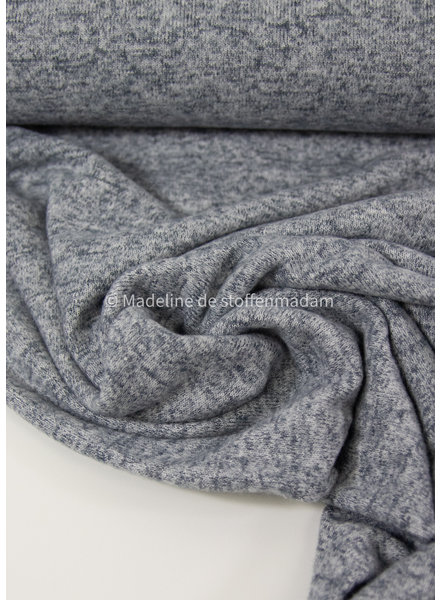 blue - Italian knitted viscose