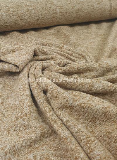 mustard - Italian knitted viscose