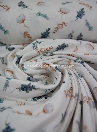 besjes en bloemen tricot
