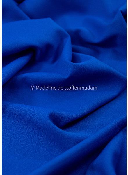 M cobalt - summer viscose crepe with 3% elasthan