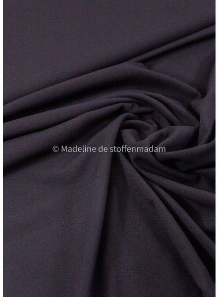 M black -summer viscose crepe with 3% elasthan