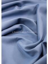 M hemelsblauw - zomerse viscose crepe met 3% elasthan