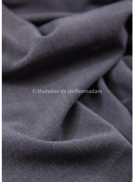 melee grijs  - crepe elasthan