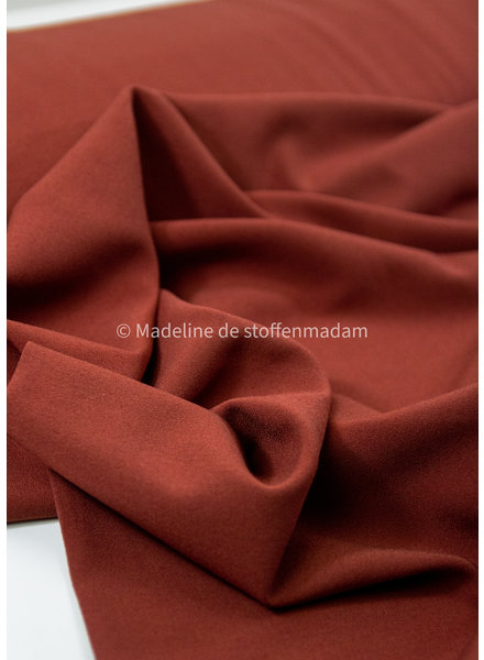 rust - crepe elasthan