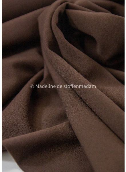 brown - crepe elasthan