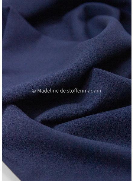 denimblauw - crepe elasthan