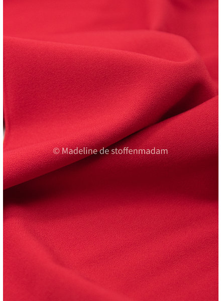 rood - crepe elasthan