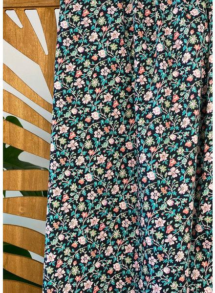 Atelier Jupe Small flower garden stretch cotton