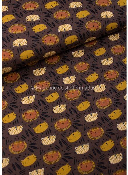 M kattenkoppekes bruin - tricot