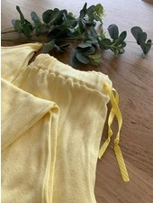 chartreuse geel - ajour tricot pointelle