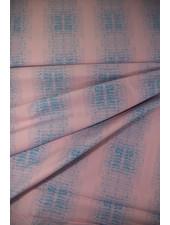 roze en blauw - heel mooi katoentje