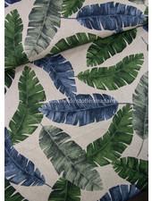 bananenbladeren - linnen look canvas