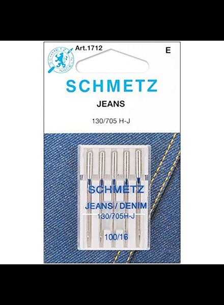 Schmetz - Jeans naalden 100/16