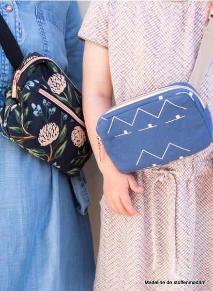 Wisj patterns Frankie & Faye Fanny pack - Wisj