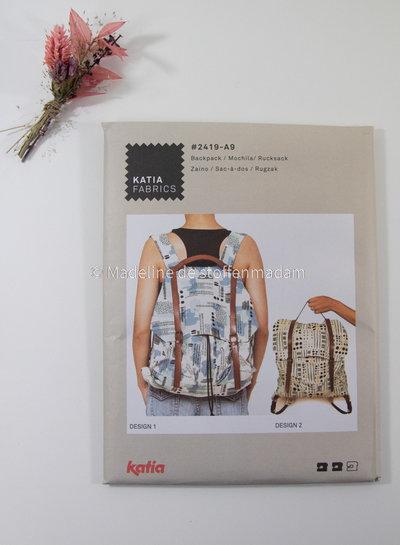 katia backpack pattern Katia A9