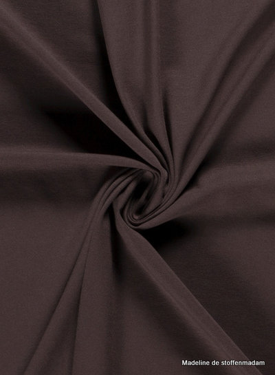 bruin 054 - effen tricot