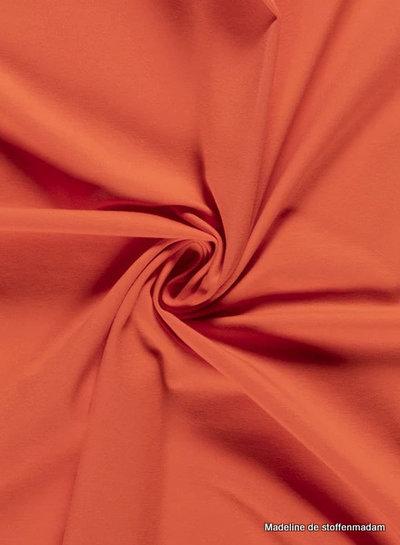 abrikoos - effen tricot