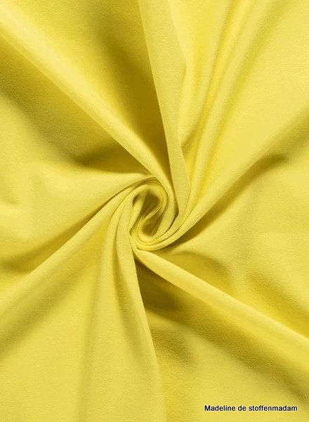 citroengeel 035 - effen tricot