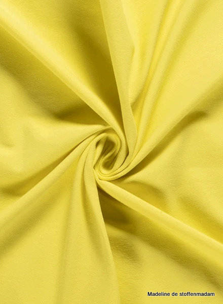 lemon yellow - solid jersey