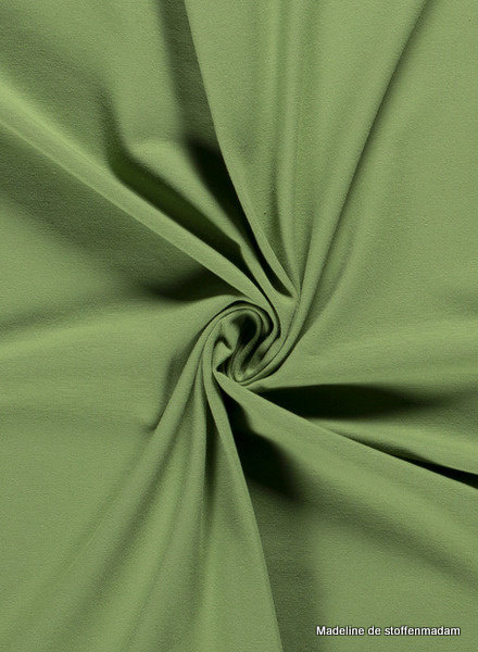 green - solid jersey