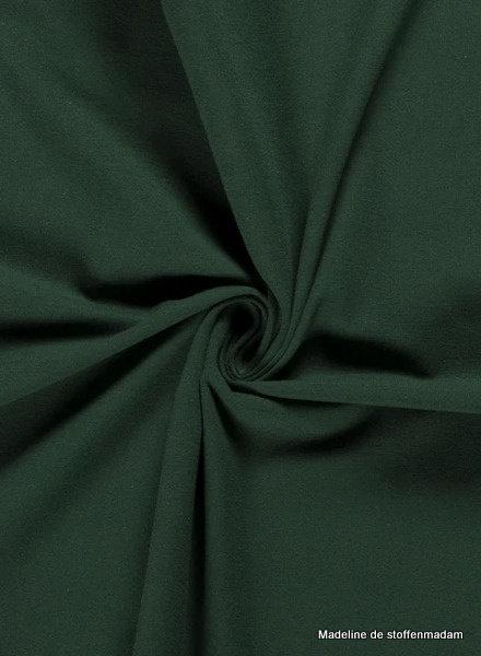 bottle green  - solid jersey