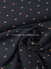 organic sunset black - double gauze / tetra GOTS label