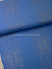 blue subtil glitter - double gauze / tetra