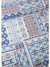 blauw bohemian - viscose