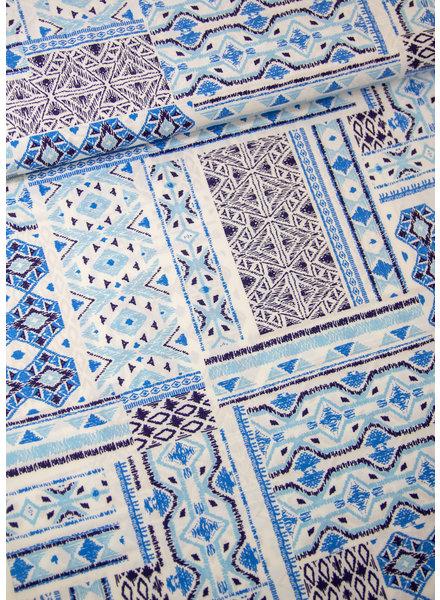 blue bohemian - viscose