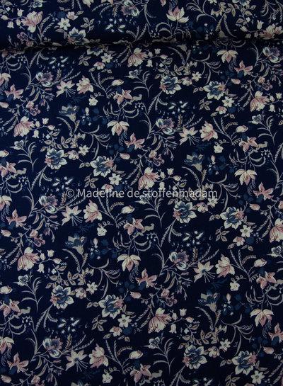 flory leaves - viscose