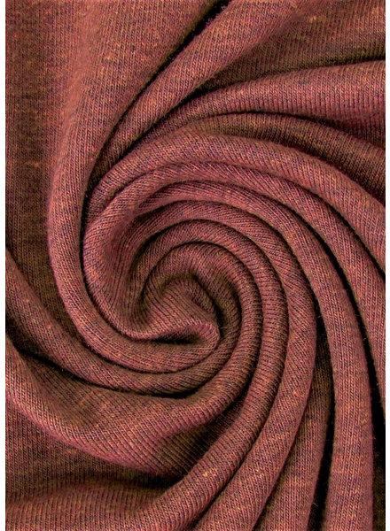getint bruin - effen tricot