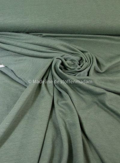A La Ville organic cotton modal mix - jersey - balsem green