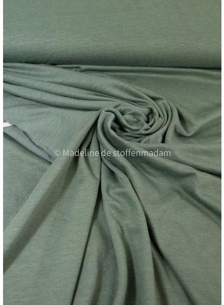 A La Ville organic katoen modal mix - tricot - balsem groen