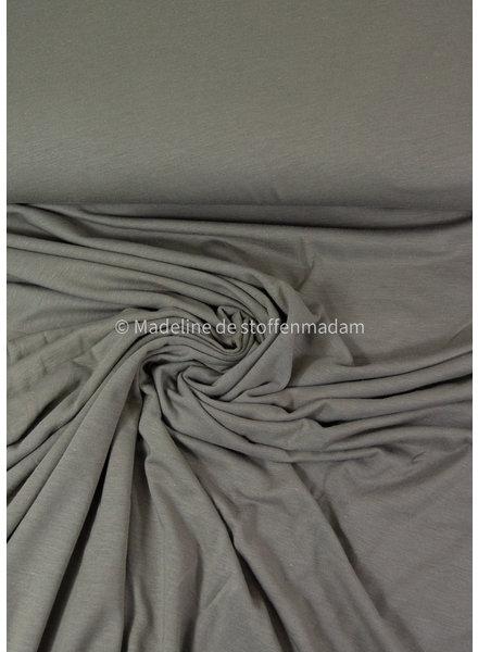 A La Ville organic katoen modal mix - tricot - grijs groen