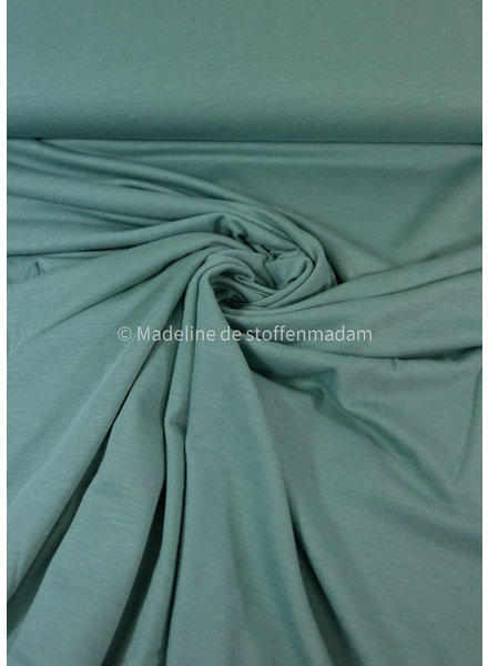A La Ville organic katoen modal mix - tricot - mint