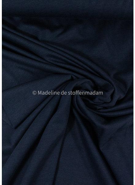 A La Ville organic katoen modal mix - tricot - marineblauw