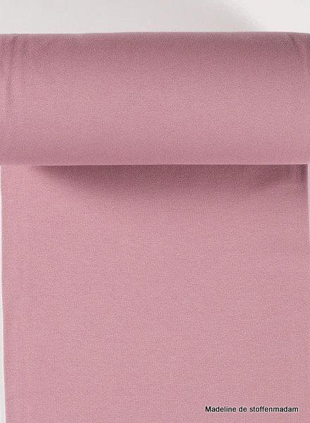 dusty pink - solid rib cuff