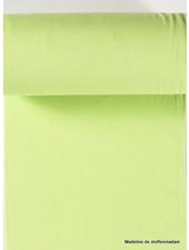 lime green - solid rib cuff