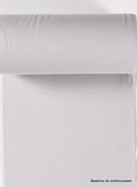 light grey - solid rib cuff