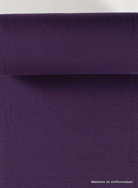 purple - solid rib cuff
